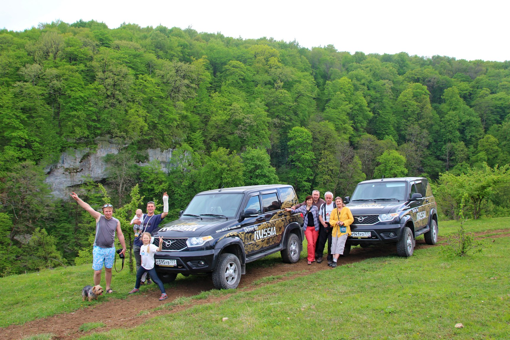 From Moscow to Adygeya by modern UAZ Patriot