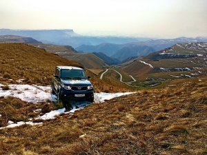 Elbrus self-driving trip