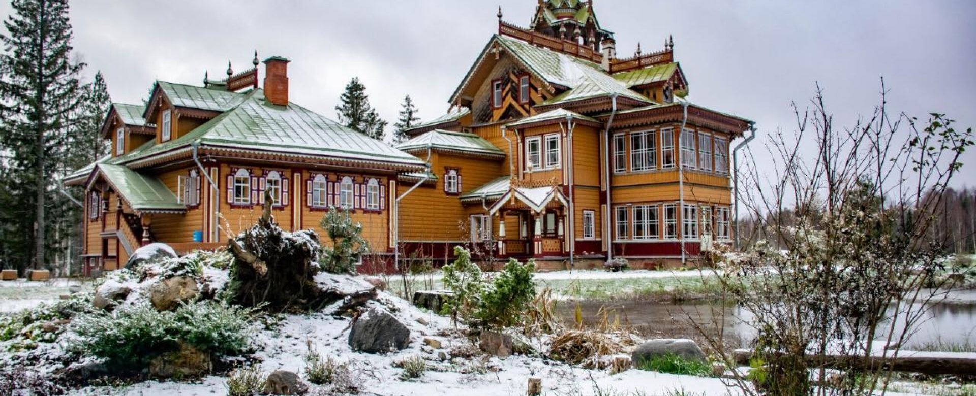 A Visit To The Russian Terem In The Woods